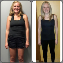 Breonna lost 22lbs in 30 days. Great job Bree. Let's keep it up.