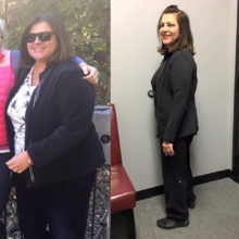 Celebrate Maureen!! This outstanding lady and dear friend has lost 40 pounds and 33.75 inches total!! She has a goal and won't stop until she hits it!